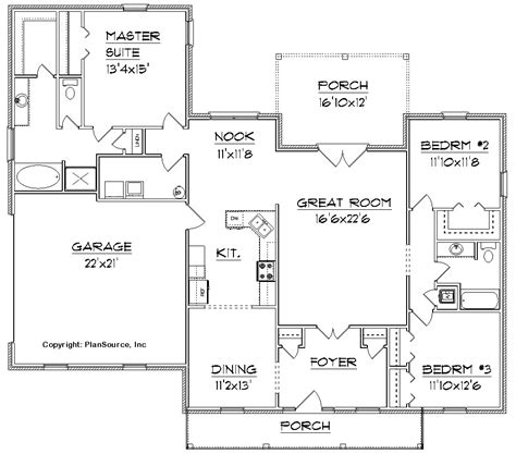 Free Blueprints For Houses by House Floor Plans Free Woodworker Magazine