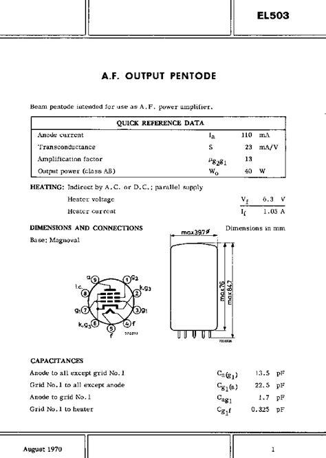 transistor b817 datasheet el503 1236513 pdf datasheet ic on line