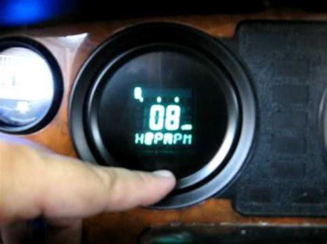 Led Tachometer Zr digital tachometer 52mm led數位式轉速表 doovi