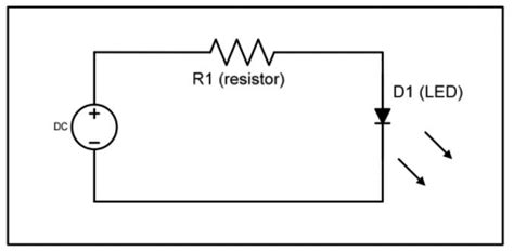 simple led circuit without resistor fundamentals leds electronic products