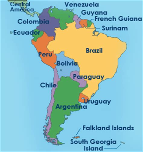 map of america continent continents south america map pictures
