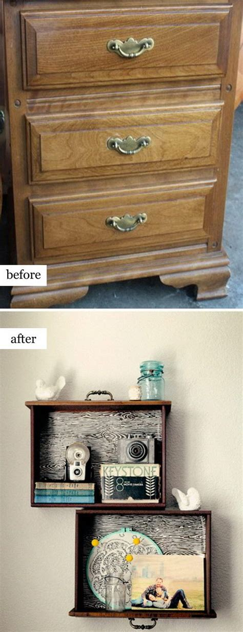 repurpose old furniture 40 awesome makeovers clever ways with tutorials to