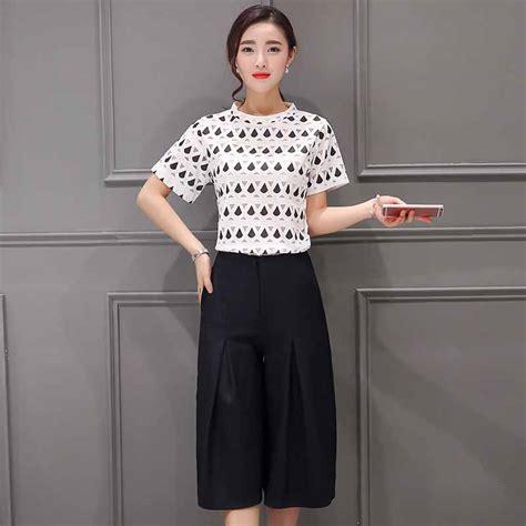 Setelan Kulot Pendek by Baju Setelan Celana Kulot Murah 2017 Model Terbaru