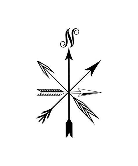 compass tribal tattoo vinyl decal compass vinyl wall decor door window