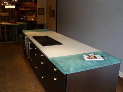 Green Onyx Countertops by Glass Island Kitchen And Bar Glass Countertop Cbd Glass
