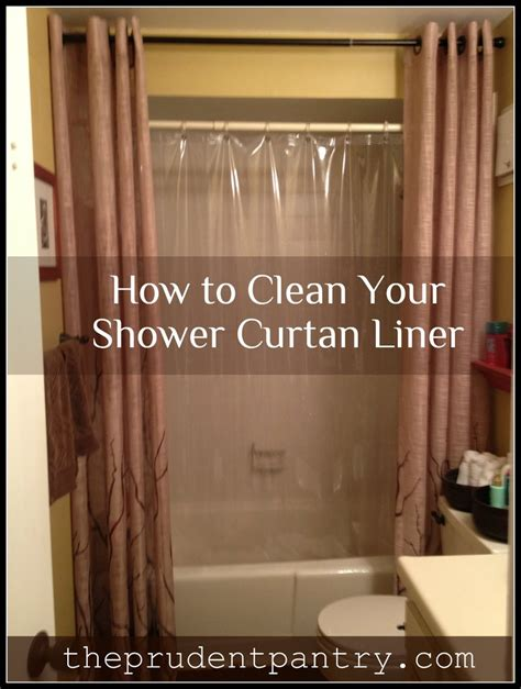 how to clean vinyl shower curtain liner 17 best images about healthy living on pinterest