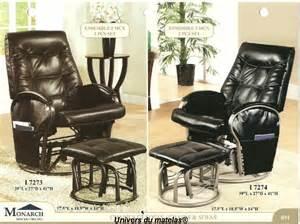 chaise bercante monarch i 7273 chaise ber 231 ante univers