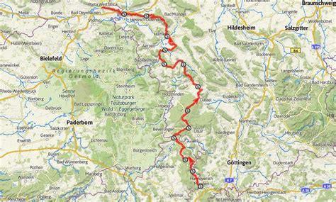 Motorradtouren Weser by Auf Dem Weserbergland Weg Unterwegs