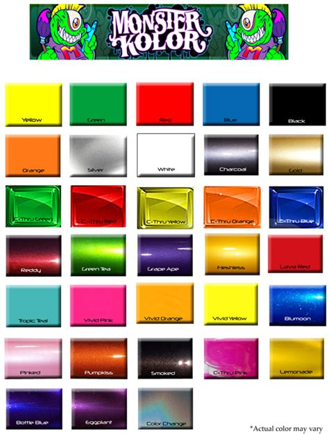 car paint color chart 2015 best auto reviews