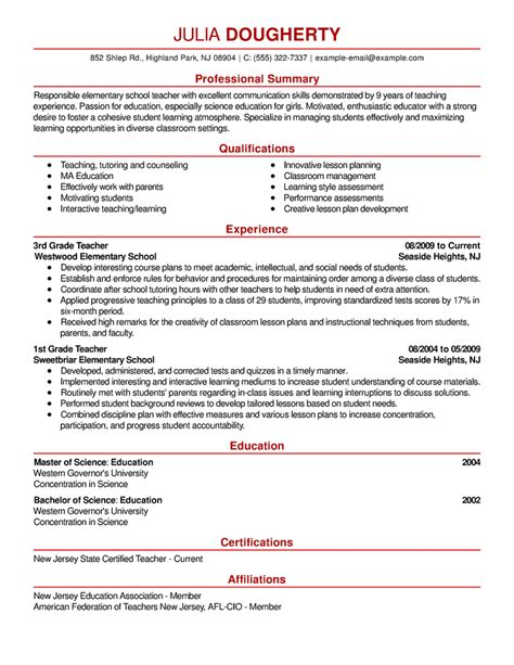 Emphasis 1 Resume Template by Free Resume Exles By Industry Title Livecareer