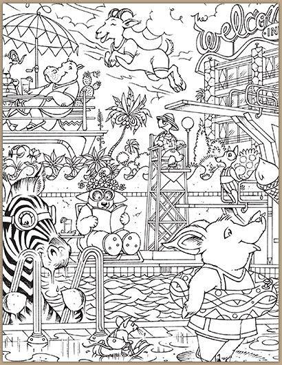 printable hidden pictures animals 55 hidden animals coloring page 73 best hidden