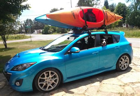 thule roof rack for mazda 3 the best mazda 3 roof racks for skis bikes kayaks and boxes