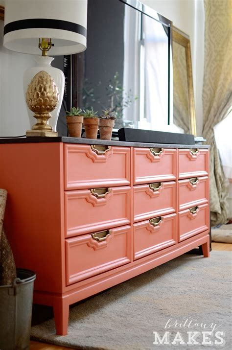 Coral Painted Dresser by Best 25 Coral Painted Dressers Ideas On Coral Dresser Coral Furniture And Top Coat