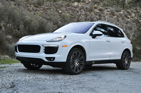 Porsche 911 Cayenne S by 2017 Porsche Cayenne S One Weekend Review Automobile