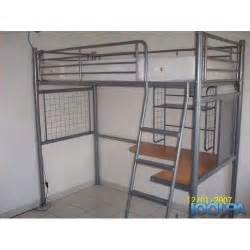 lit mezzanine 1 place avec bureau conforama achat et vente