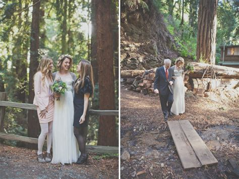 wedding ceremony after eloping charming big sur elopement katherine brent green