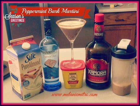 peppermint martini recipe peppermint bark martini recipe melanie mitro