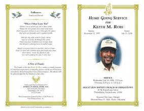 Free Obituary Program Template by Funeral Program Quotes Quotesgram