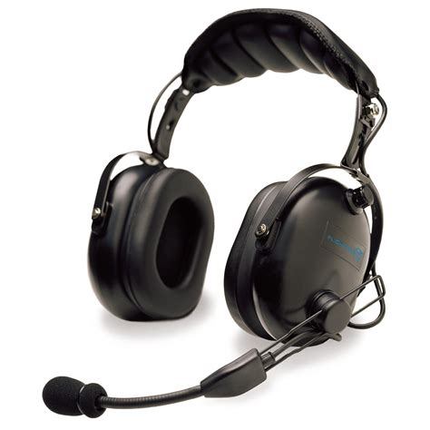 Headset Pilot flightcom 4dlx passive pilot headset with free headset