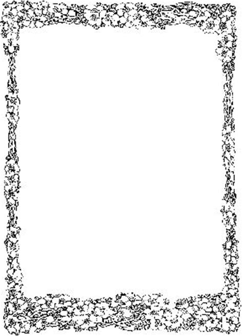 coloring page borders an border colouring pages