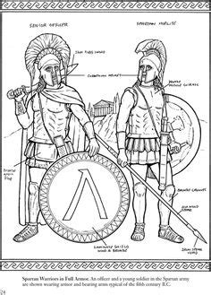1000 Images About Coloring Pages Lineart Ancient Greek Spartan Coloring Pages
