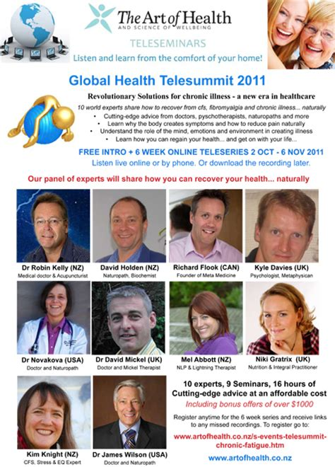 soho global health news events global health telesummit 2011 free introductory