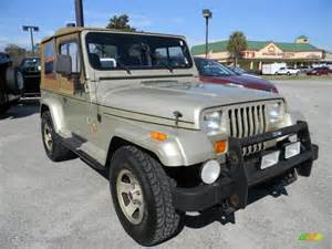 1992 Jeep Wrangler Specs 1992 Light Chagne Metallic Jeep Wrangler 4x4