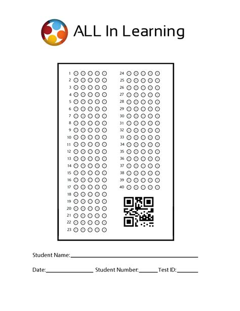 bubble sheets templates bubble in answer sheet printable search results