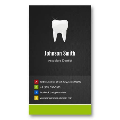 Marketing Associate Business Card Templates by Associate Dentist Dental Creative Innovative Business