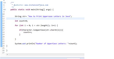 Character Letter Java how to find uppercase letters in a string in java