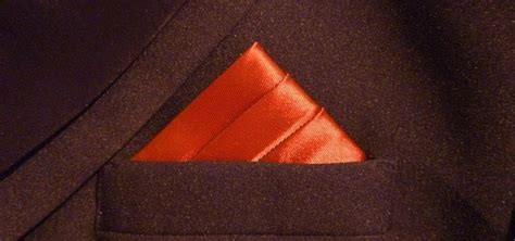 how to fold a pocket square the 3 stairs animated guide