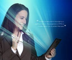 blue light from electronic devices optical lenses on eyewear technology and hamm