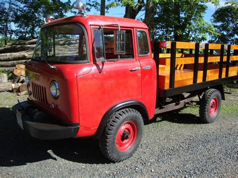1962 Willys Jeep 16k Clean 1962 Willys Jeep Fc 170 Bring A Trailer