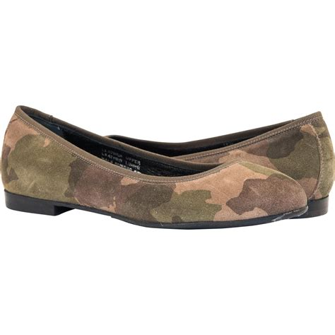 camo flats shoes stella camouflage dip dyed suede ballerina flats