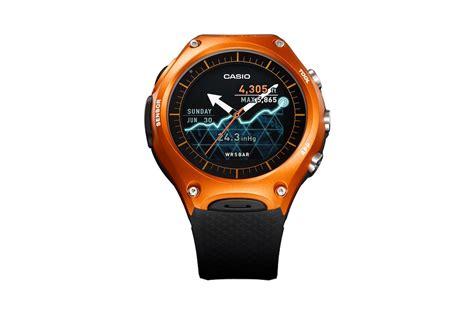 Casio Smartwatch Android casio wsd f10 neue smartwatch mit android wear vorgestellt