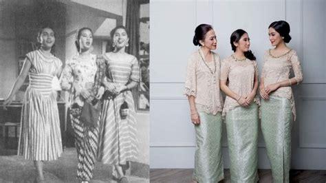 cara bikin alis zaman sekarang 9 foto perbedaan ootd orang dulu dan sekarang perkara