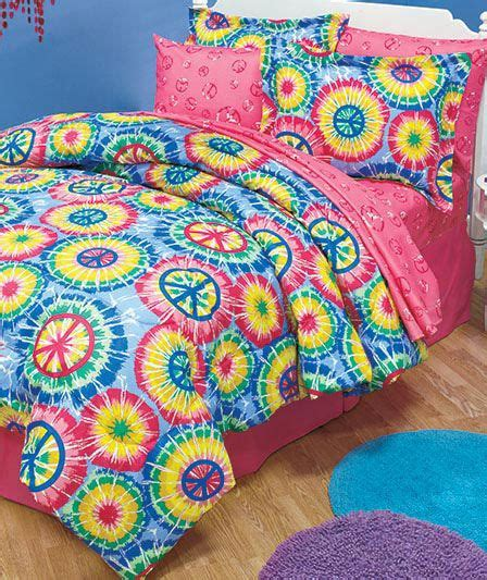 tie dye comforter sets tie dye peace sign bedding collection comforter set in