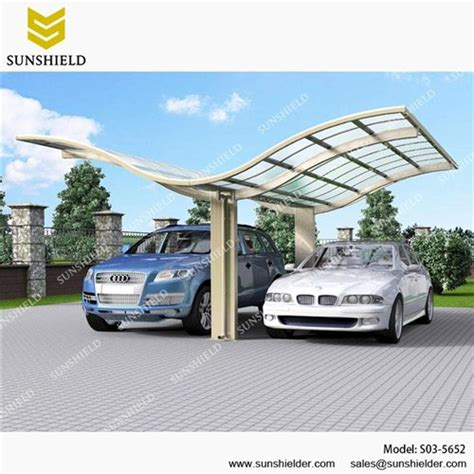 Aluminum Carport Designs by Shade Structures Back To Back Shelter Portable