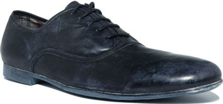 bed stu cosburn bed stu cosburn lace up oxfords in black for men lyst