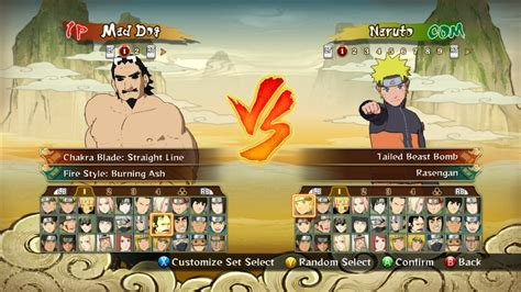 mod game naruto ultimate ninja strom revolution mad dog moveset mod at naruto ultimate ninja storm