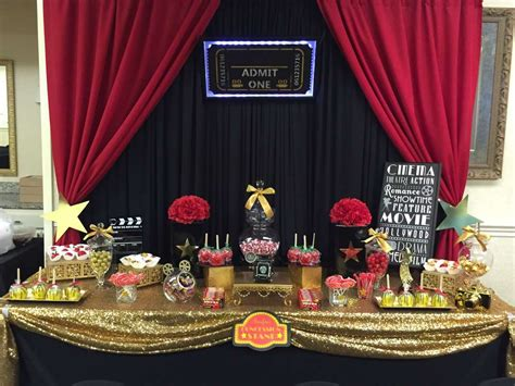 party themes red carpet hollywood red carpet birthday party ideas photo 1 of 23