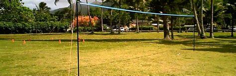 volleyball net backyard review park sun tournament 179 volleyball set