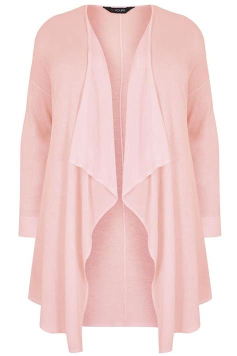 196 225 186 185 P G 225 186 183 P N 195 Ng Ca S 196 169 M 195 170 Qu 225 186 167 N pink knit waterfall cardigan plus size 16 to 36