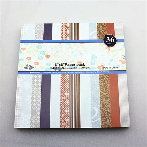 6 quot vintage snow flake diy scrapbooking paper kit