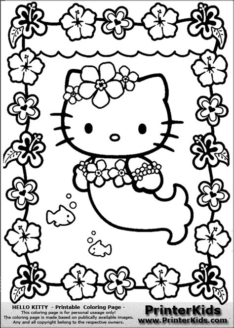 hello kitty coloring pages pdf hello kitty coloring pages