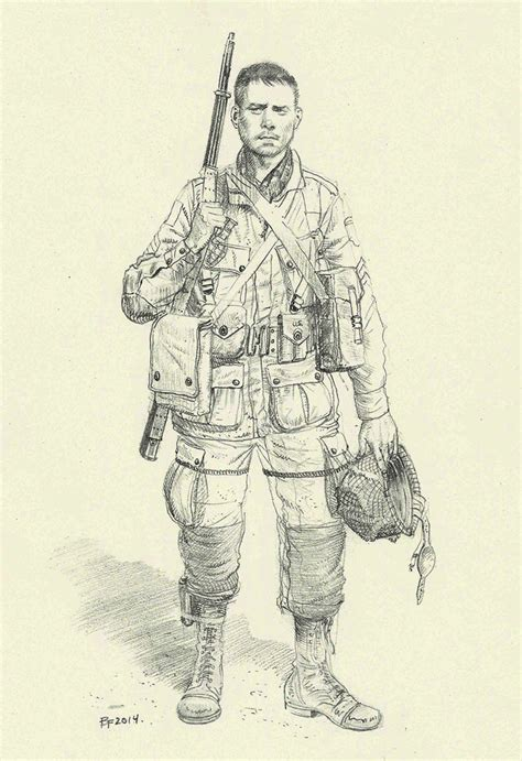 D Day Sketches by American Paratrooper D Day By Jesusfood On Deviantart