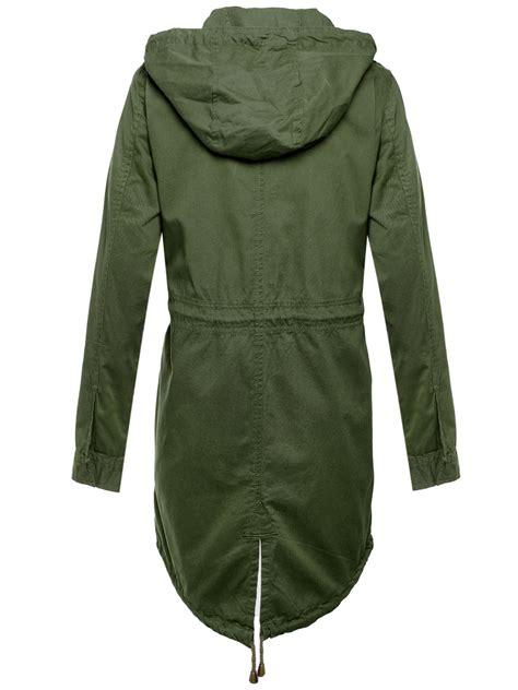 Jaket Parka Cotton Twill new cotton twill khaki fishtail parka coat