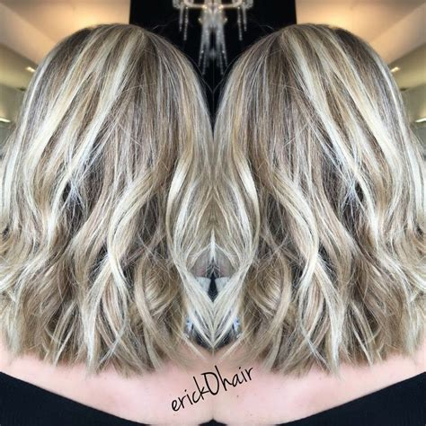 blonde highlights with ash base blonde highlights with ash base balayage and foil blonde
