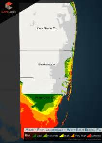 florida surge map south florida surge risk south florida flood damage