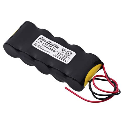 Baterai Lu Emergency 6 Volt ultralast green dantona 6 volt 1500 mah ni cd battery for